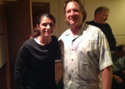 Mia Hamm & Rich Wenzel