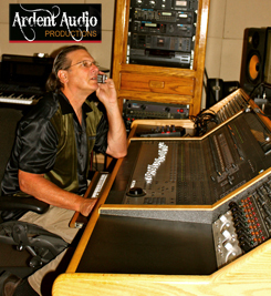 Rich Wenzel - owner, engineer, producer and professional musician